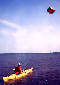 kayak-kite